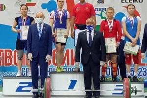Брянцы стали призерами на чемпионате России по тяжелой атлетике
