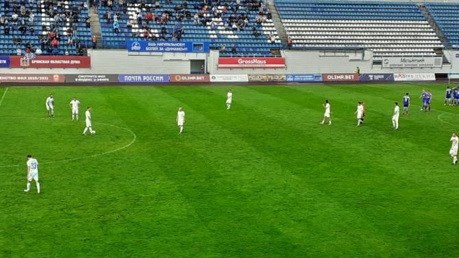 Брянское «Динамо» проиграло «Оренбургу» 0:1