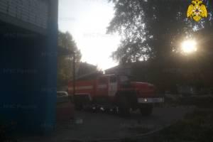 В Брянске на проспекте Московском сгорел магазин: эвакуировали 15 человек