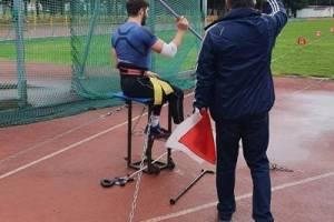 Брянский паралимпиец Владислав Аниканов установил рекорд России