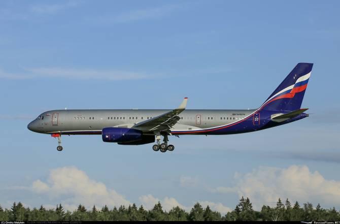 В брянском аэропорту приземлился неожиданный гость из Москвы