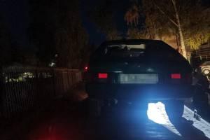 Ночью по Новозыбкову гонял пьяный водитель ВАЗ