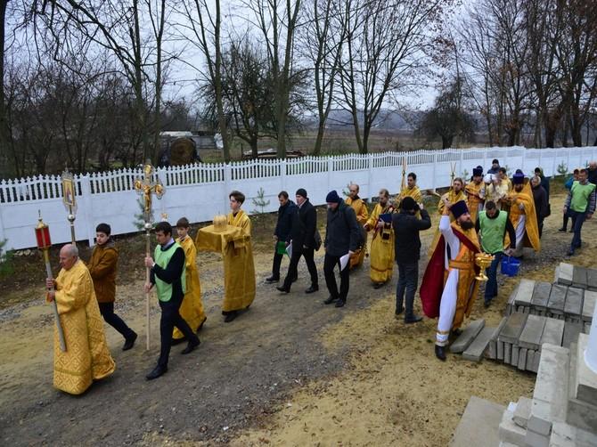 В селе Шведчики под Севском освятили храм