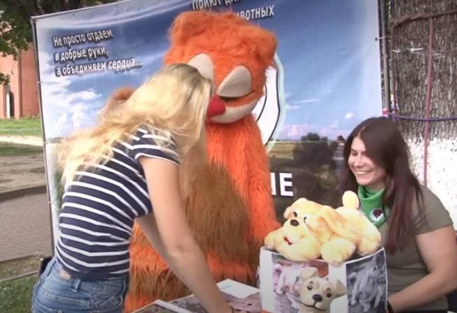 В Брянске прошла выставка собак без участия животных
