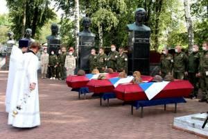 В Навле перезахоронили останки советских воинов