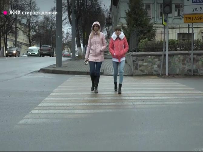 В Брянске чиновница Сафонова не пояснила, куда исчезает дорожная разметка