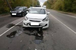 В массовом ДТП на Речной в Брянске пострадала 38-летняя женщина