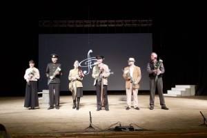 В Брянске состоялась премьера музыкального спектакля «Томик Пушкина»