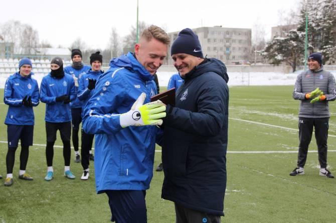 Вратарь брянского «Динамо» получил награду