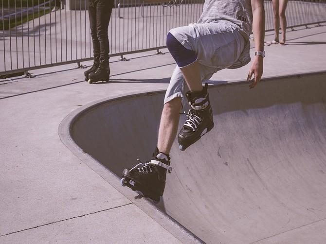 Брянские экстремалы оценили новый скейт-парк в Майском парке