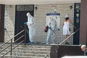 В Брянске «люди в белом» вышли на борьбу с COVID-19
