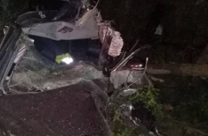 В Трубчевском районе погибли водитель и пассажир автомобиля Honda Accord