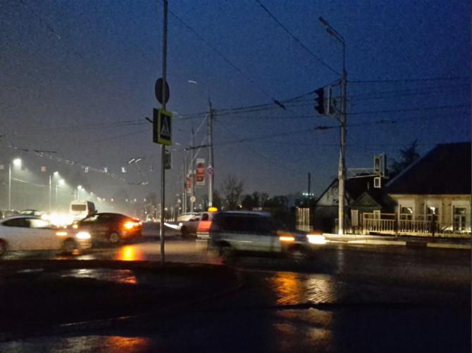 В Брянске из-за аварии Городищенская горка погрузилась во тьму