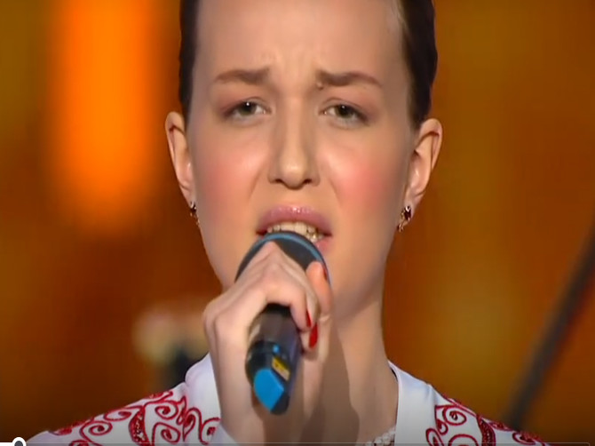 Юная брянская певица выступила на концерте Пахмутовой