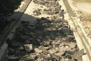 В Брянске завершился затянувшийся ремонт тротуара на Бежицкой