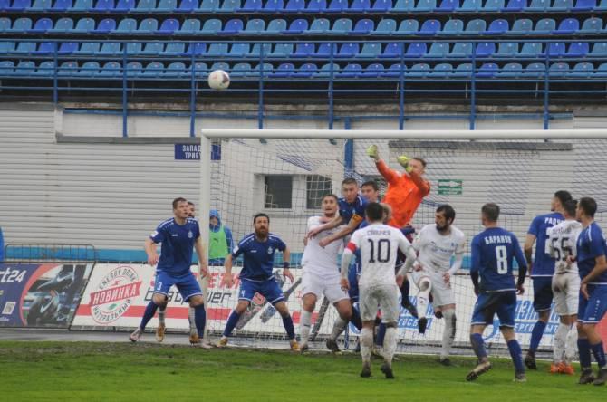 Брянское «Динамо» проиграло последний домашний матч в ФНЛ