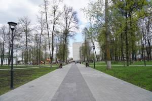 Клинчане в поисках открытого туалета в парке Воровского