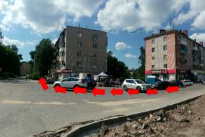 Брянцы требуют построить тротуар у сквера «Литий»
