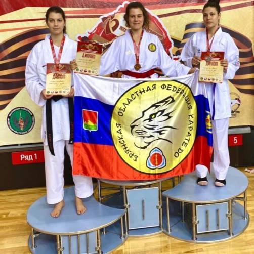 Брянские каратисты завоевали 47 медалей на всероссийских соревнованиях
