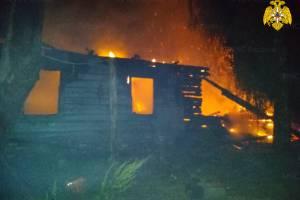 Под Почепом сгорел жилой дом