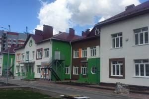 В Брянске завершается строительство детского сада с бассейном