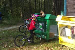 В Брянске велосипедисты посоревновались в раздельном сборе мусора