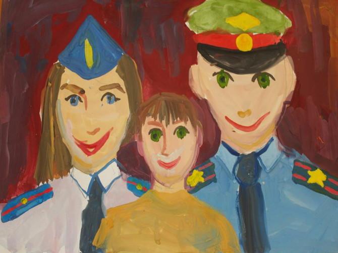 На Брянщине проведут конкурс для детей полицейских