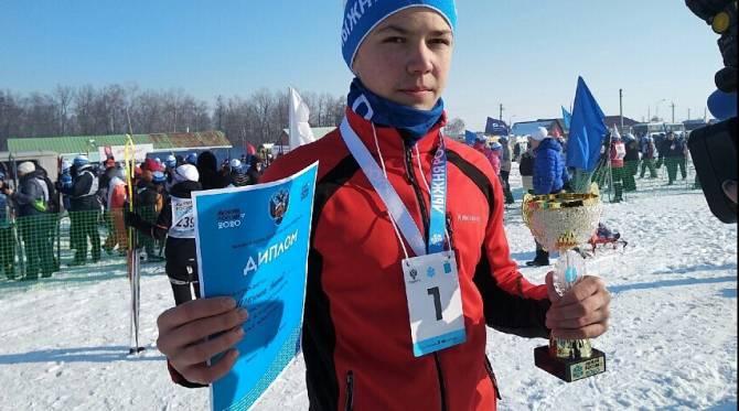 Брянец Николай Герасимов стал лучшим на «Лыжне России»