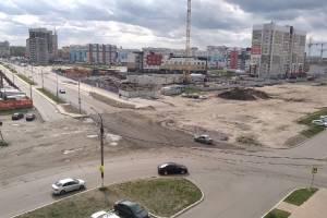В Брянске снова отремонтировали дорогу на пересечении Горбатова и Войстроченко
