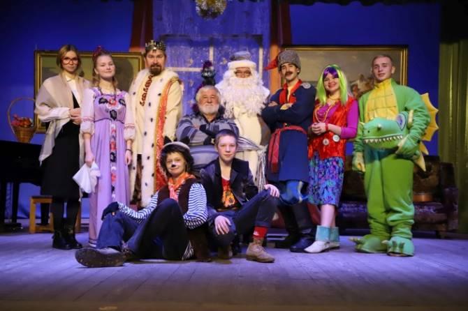 В Клинцах премьера спектакля «Чудеса с доставкой на дом» прошла без зрителей