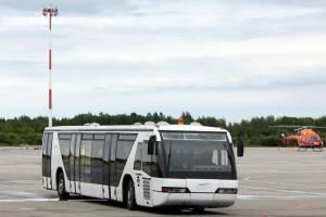Аэропорт «Брянск» закупил два перронных автобуса