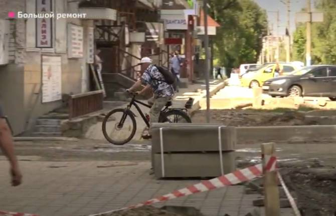 Брянские власти обещают восстановить тротуары на улице XXII Съезда КПСС