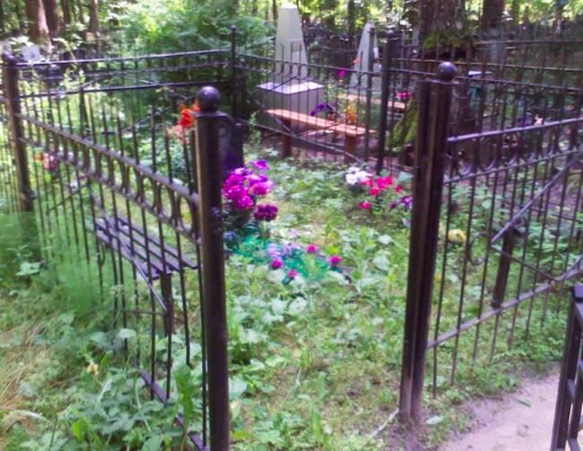 В Брянске с кладбища на Почтовой пропадают оградки
