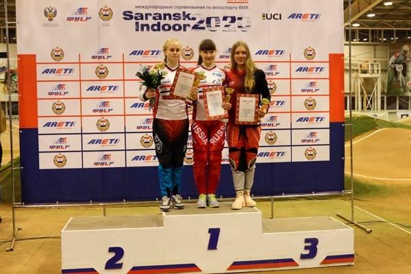Брянская велогонщица взяла «бронзу» международных соревнований