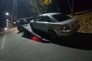 В Новозыбкове водитель Ford устроил пьяные покатушки