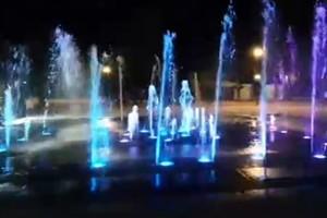 Новый фонтан в Майском парке Брянска стал музыкальным