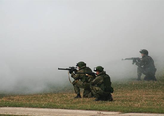 Молодые брянские солдаты приступили к боевому слаживанию