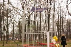 В Новозыбкове вандалы уничтожили уникальный арт-объект