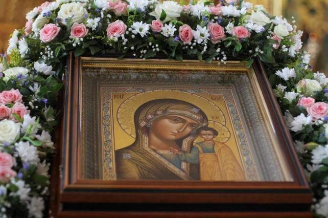 Брянские православные отмечают День Казанской иконы Божией Матери