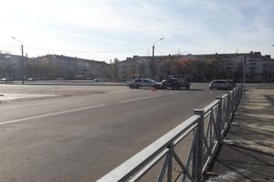 В Брянске «Яндекс.Такси» попало в ДТП на кольце у ДК Железнодорожников