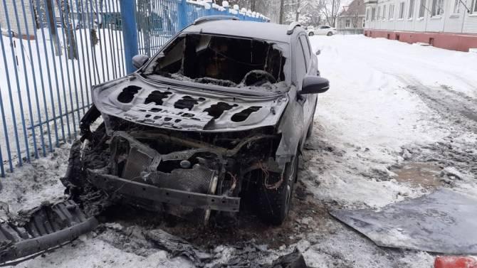 Сожженный автомобиль брянской журналистки 9 января прошел техобслуживание