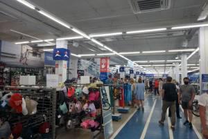 В Брянске огромный «Спортмастер» обошел коронавирусные ограничения