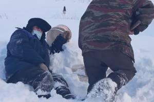 Под Брянском пенсионеры оказались в изоляции из-за нечищеных дорог