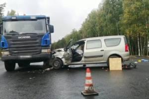 В массовом ДТП на ремонтируемой дороге под Новозыбковом погиб 60-летний мужчина