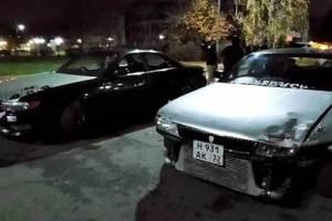 В Брянске дрифтеры устроили опасные гонки у ДК Железнодорожников