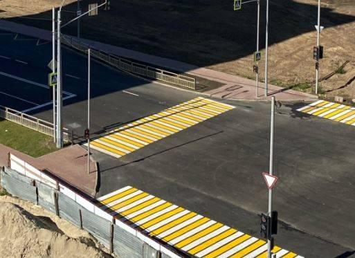 В Брянске на новой дороге по Советской впервые включили светофоры