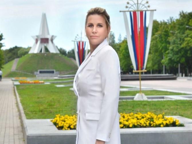 Брянская чиновница Татьяна Цыганок примерила роль Сталина
