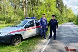 Брянские росгвардейцы помогли пострадавшим в массовом ДТП водителям