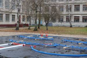 В Брянске у школы №42 появится новая спортплощадка