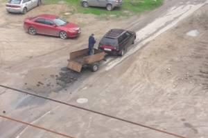 Жители Клинцов начали сами ремонтировать перекрестки в городе